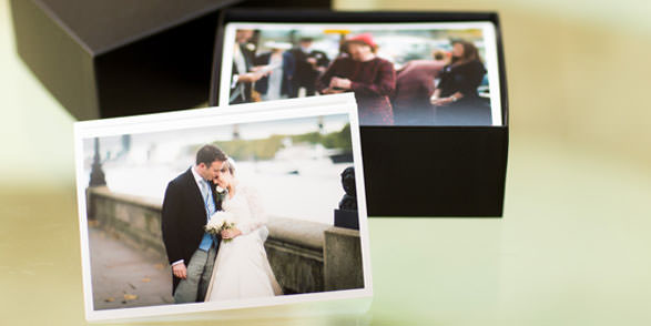Prints of all wedding photographs