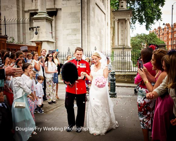 Wedding Photographer Confetti Brompton Oratory