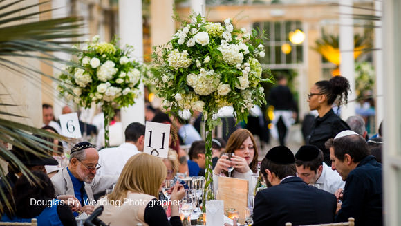 Syon Table Decorations