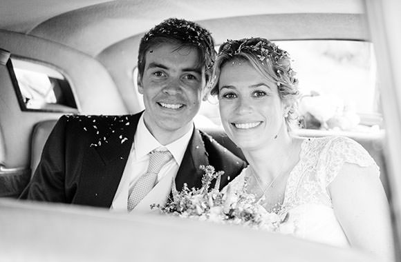 Black and White conversion wedding photo