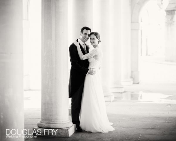 Wedding Photographer Outside at Inner Temple