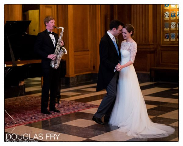 Wedding Photography of couple dancing during wedding at Inner Temple