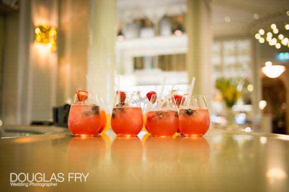 Cocktails at Bar in Mandarin Oriental Hotel