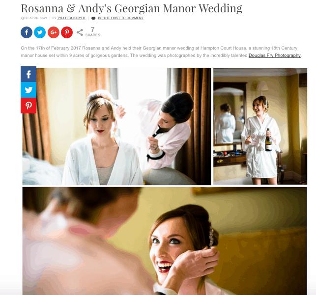 Confetti Real Wedding Feature