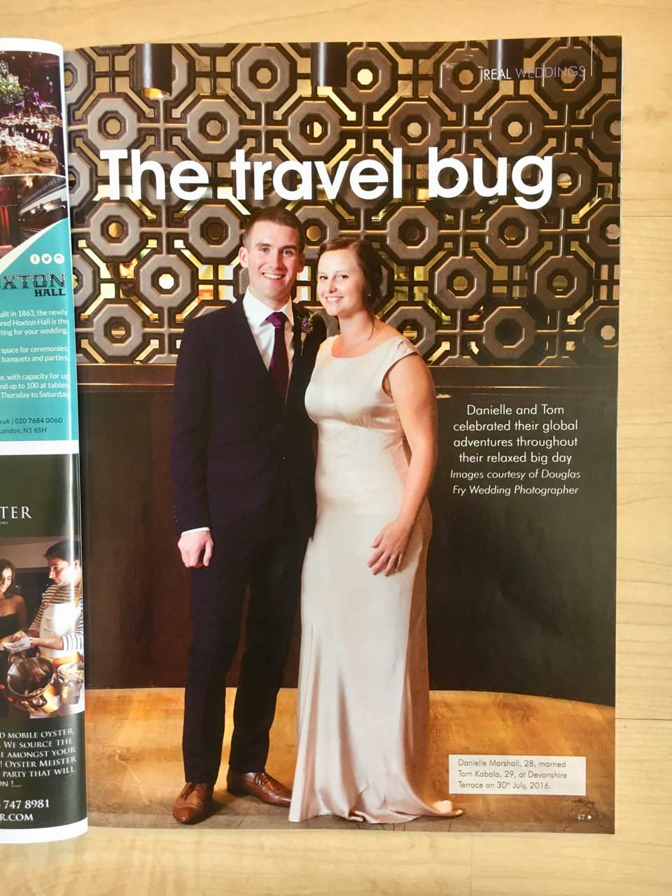 Featured Wedding Article in Your London Wedding Magazine