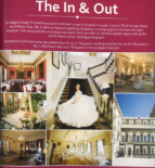 Advertisment in brochure for wedding venue in London