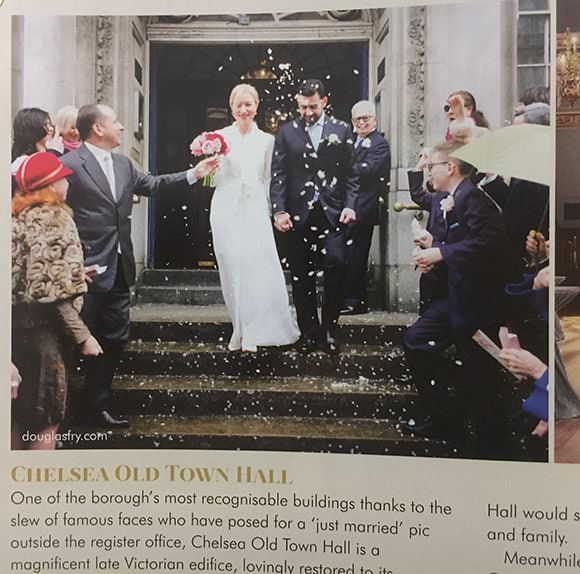 Magazine article featuring photography by Douglas Fry