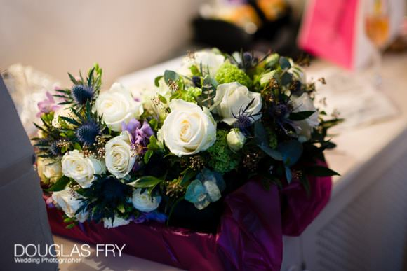 Wedding Bouquet Photographed in London
