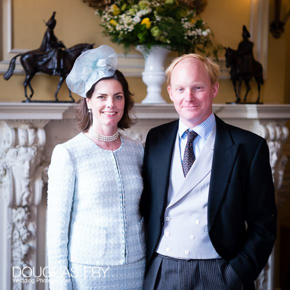Formal wedding photograph at Cavalry and Guards Club