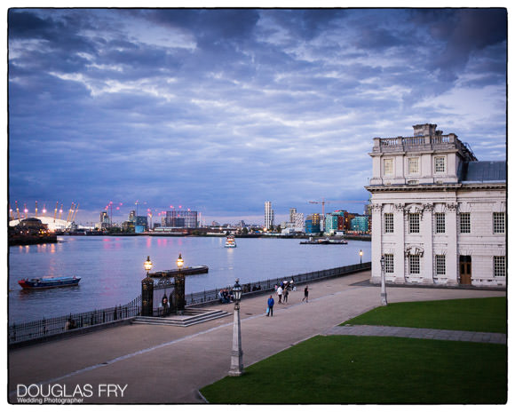 Wedding photographer admiral's house in greenwich