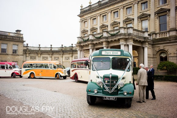 Front of Cliveden House during wedding