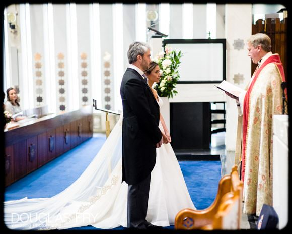 The Guards' Chapel and Cavalry and Guards Club Wedding Photographer 4