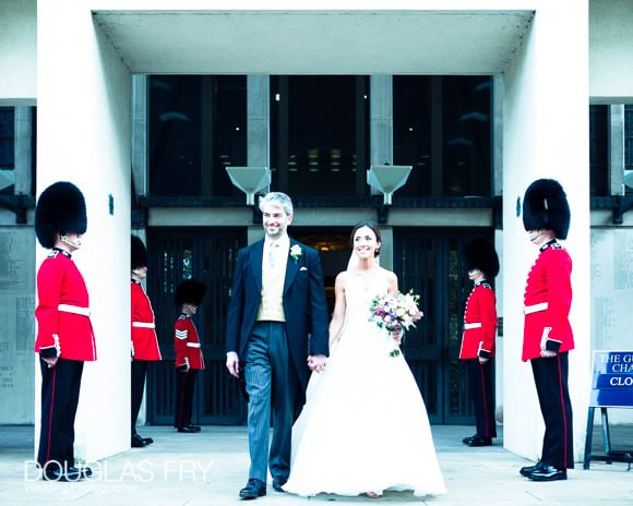 The Guards' Chapel and Cavalry and Guards Club Wedding Photographer 7