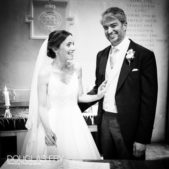 The Guards' Chapel and Cavalry and Guards Club Wedding Photographer 8