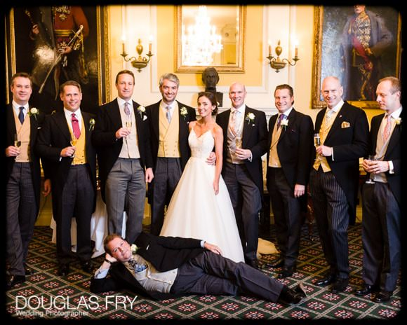 The Guards' Chapel and Cavalry and Guards Club Wedding Photographer 12