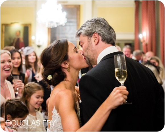 The Guards' Chapel and Cavalry and Guards Club Wedding Photographer 11