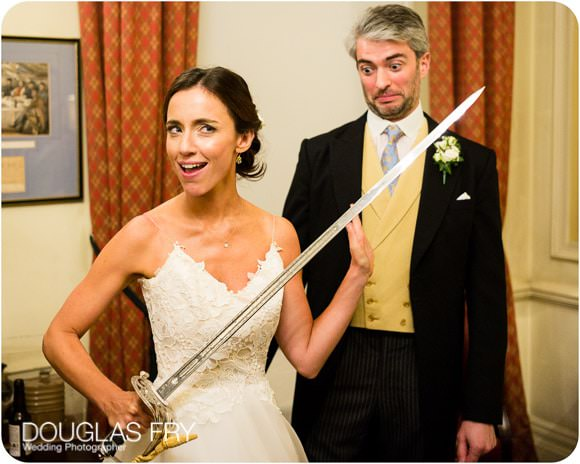 The Guards' Chapel and Cavalry and Guards Club Wedding Photographer 10