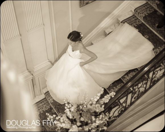Bride at Cavalry and Guards Club in London