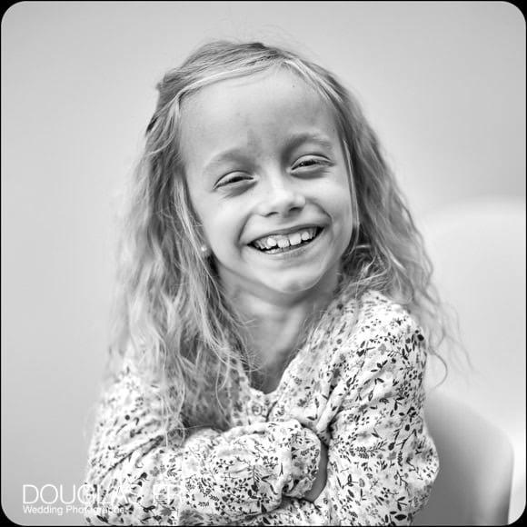 family photography of little girl