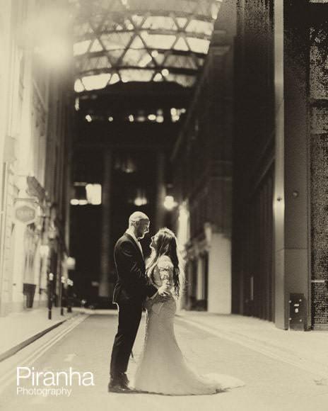 Couple pictured in London street near Gherkin