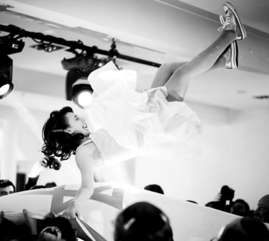 London bat mitzvah photographer - dancing photograph