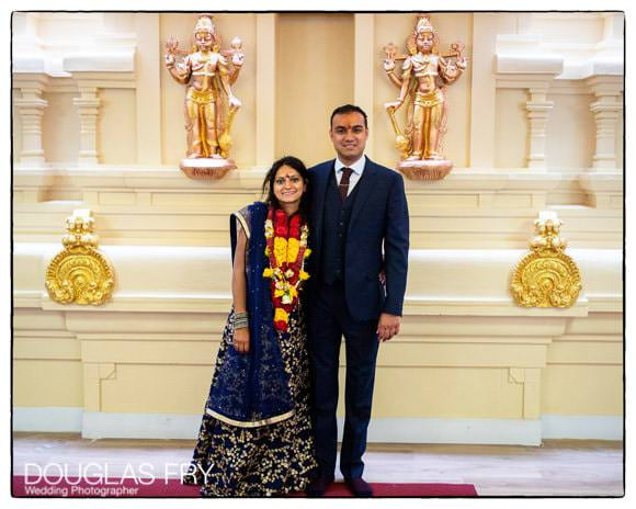 Couple pictured together in Temple in London