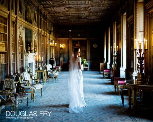 Bride photographed at Syon Park