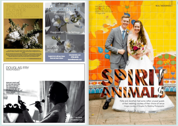 August Wedding at London Zoo 1