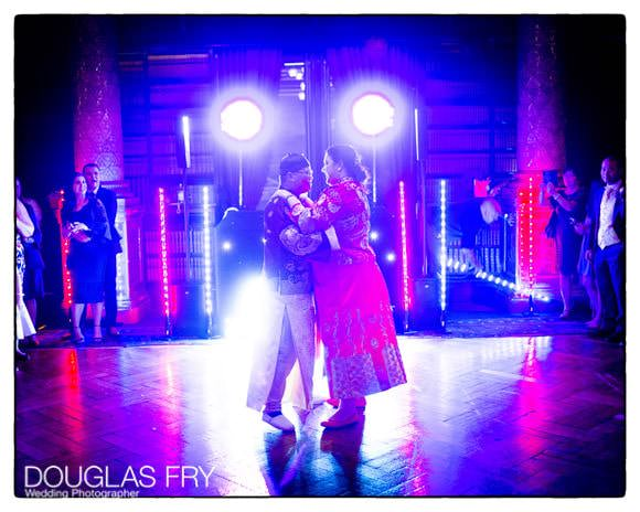 PHotograph of couple during first dance
