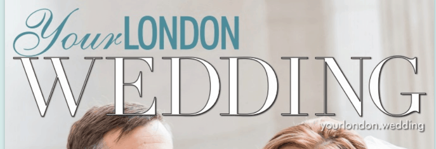 Photography featured by Douglas Fry in London Wedding Magazine