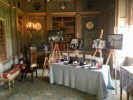 Douglas Fry Wedding Photographer's trade stand at Syon Park's Wedding Open Day.