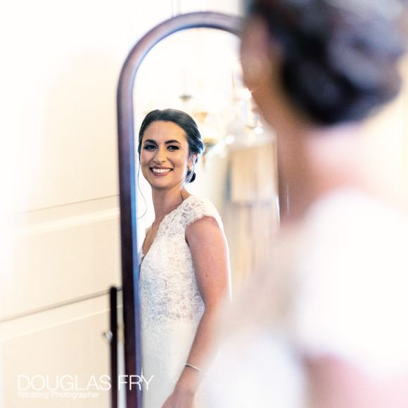 bride getting ready at Gray's Inn