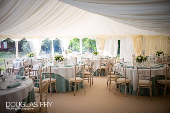Party Photography in Sussex - the marquee