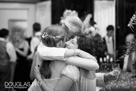 Celebration at wedding