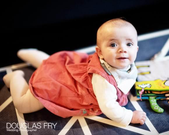 Baby Photographer - on a rug
