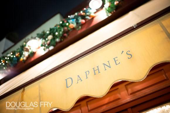 Exterior of Daphnes in Chelsea