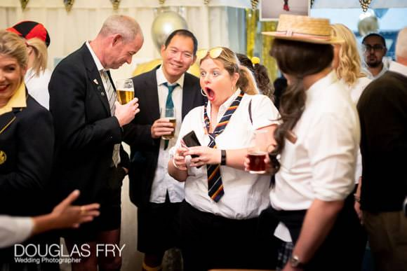 Guests at St Trinians Birthday party