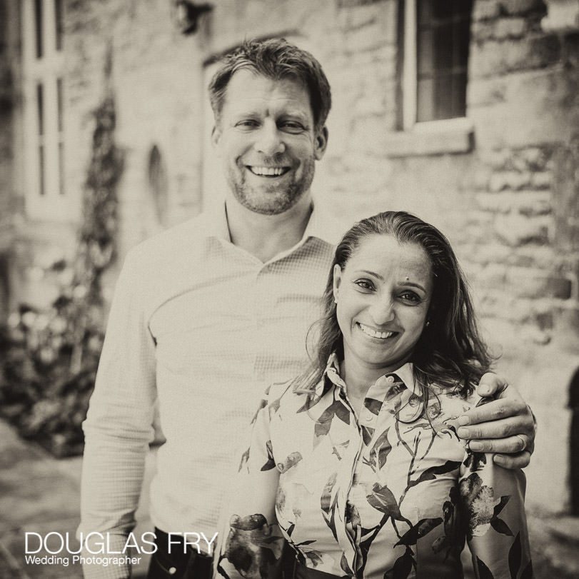 Couple photographed together during family photo session