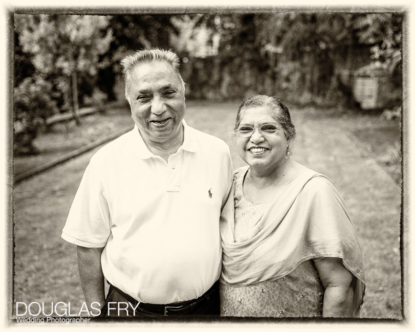 Grandparents photographed together during family photo shoot