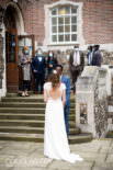 Socially distanced wedding at Goodenough College in London