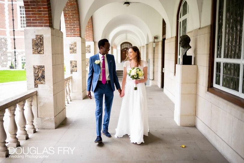 Goodenough College wedding photographer