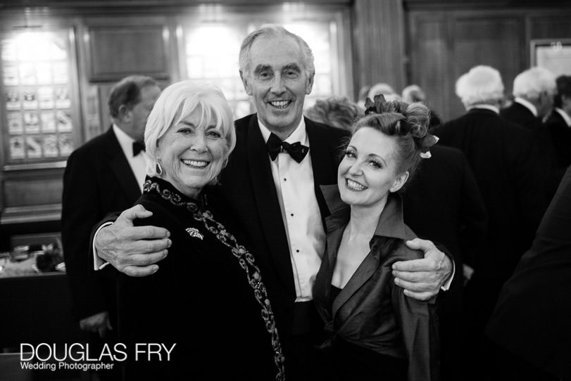 Retirement party photography at Inner Temple in London