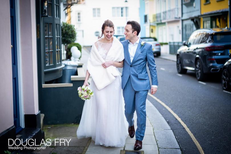 Wedding Photographer London Chelsea Streets photography