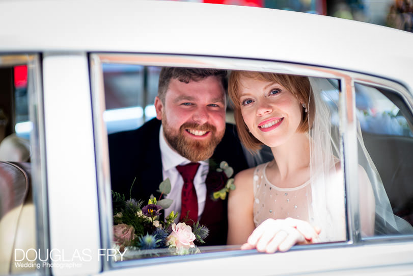 London wedding photographer - photography in Chelsea of couple on their wedding day