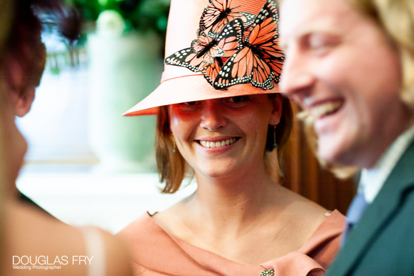 Wedding Photographer One Great George Street London - guests at reception