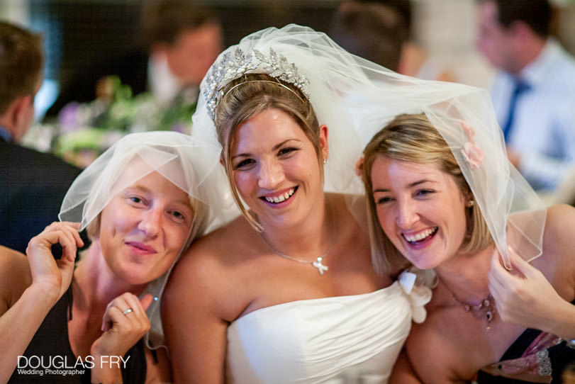 Wedding Photographer One Great George Street London - bride and bridesmaids