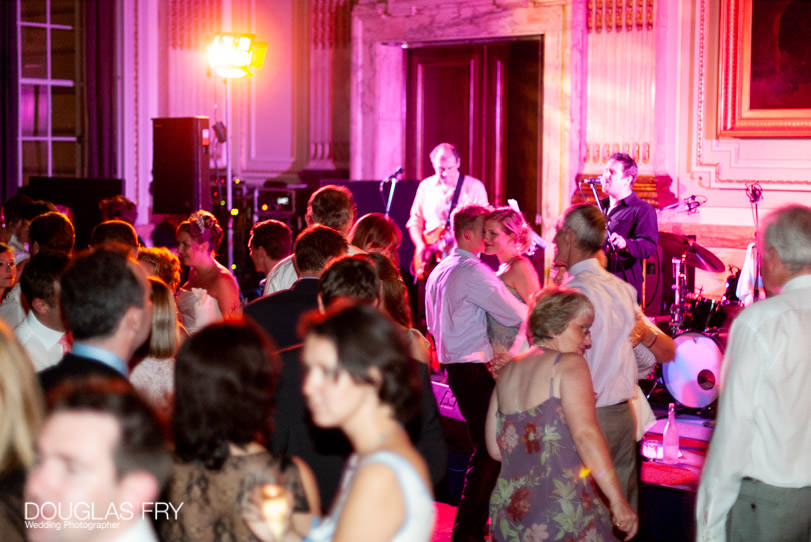 Wedding Photographer One Great George Street London - the band