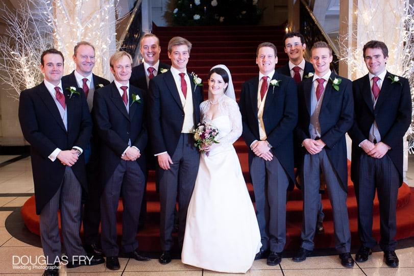 Wedding Photographer One Great George Street London - ushers