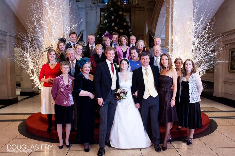 Wedding Photographer One Great George Street London - group photograph