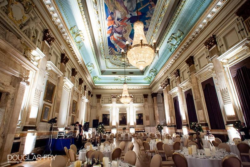 Wedding Photographer One Great George Street London - London venue room shot